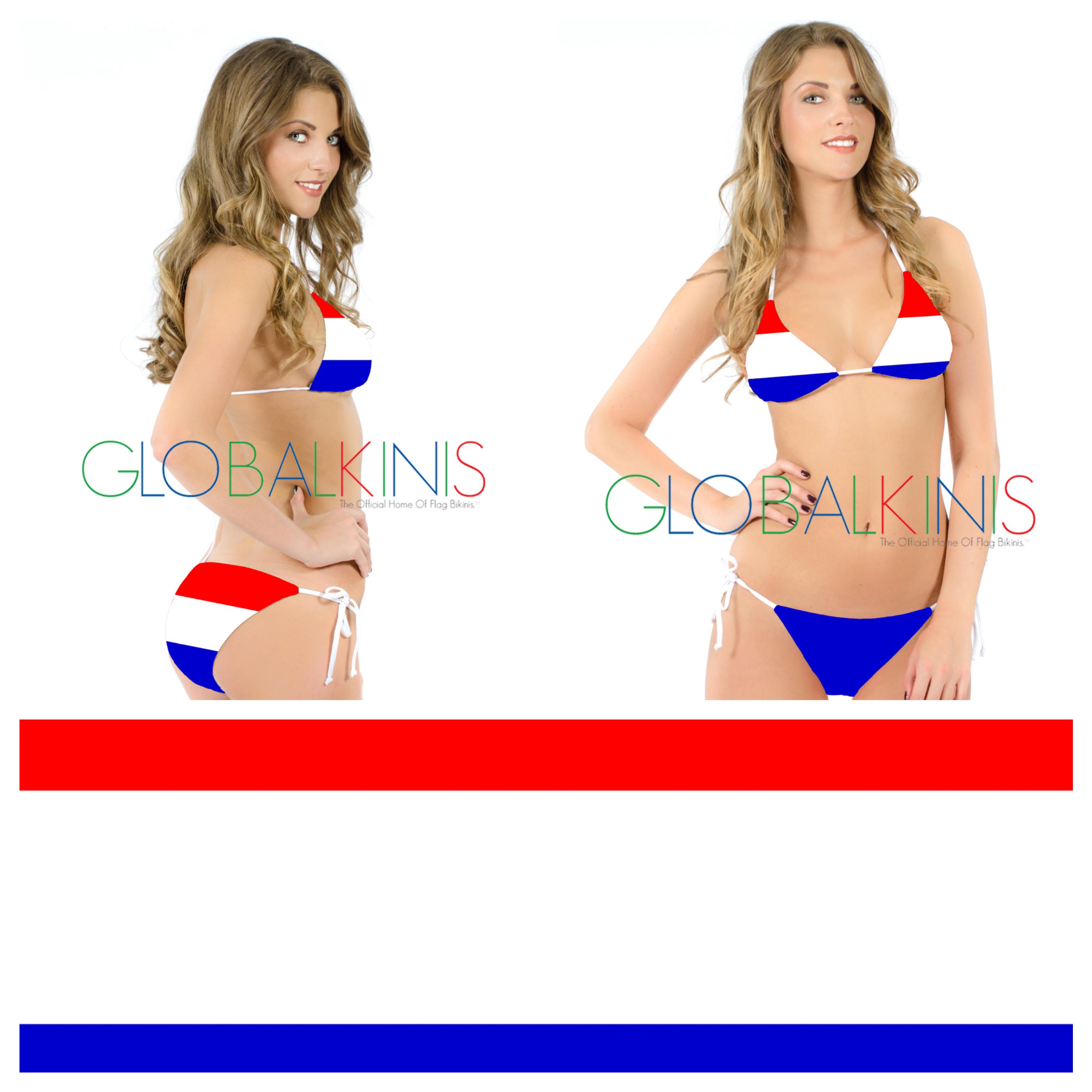 Netherlands Flag Bikini