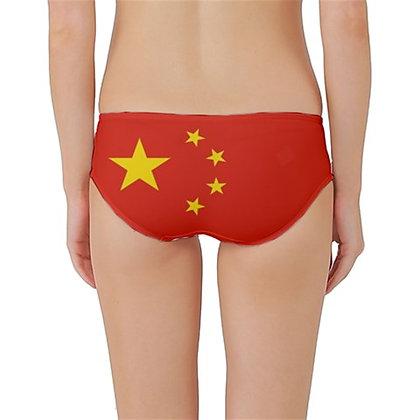 China Flag Classic Bikini Bottoms