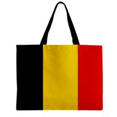 Belgium Flag Tote Bag w/ Zipper.