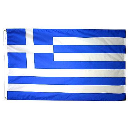 "Greece Flag ""3x5"""