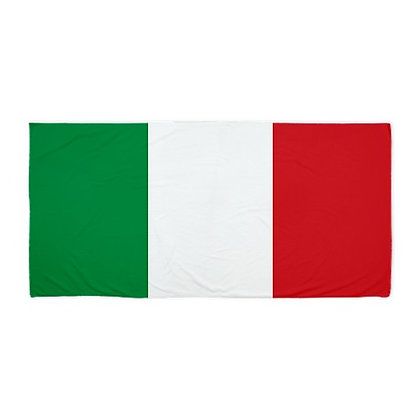 Italy Flag Beach Towel