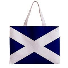 Scotland Flag Tote Bag w/ Zipper.