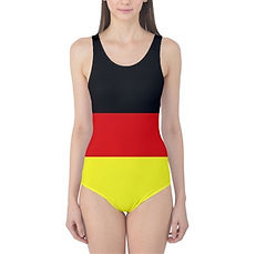 Globalkinis Germany Flag One Piece, Globalkinis Germany Swimsuits, Germany Flag Swimsuit