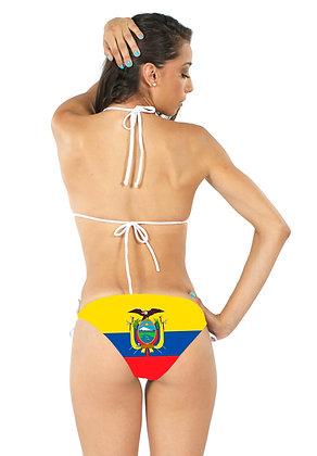 Ecuador Flag Bikini Bottoms