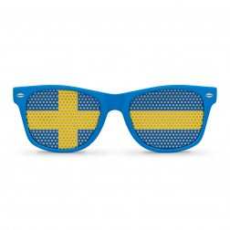 Sweden Flag Sunglasses