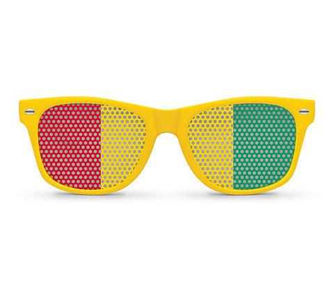 Guinea Flag Sunglasses