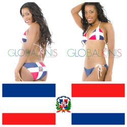 Dominican Republic Flag Bikini