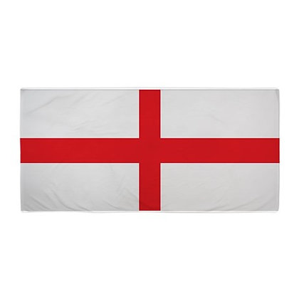 England Flag Beach Towel