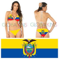 Ecuador Flag Bikini