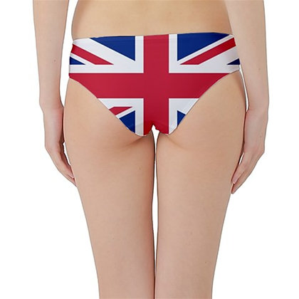 United Kingdom Flag Hipster Cheeky Bikini Bottoms