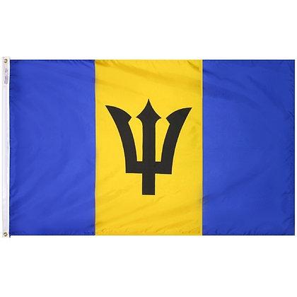 """Barbados Flag """"3x5"""""""