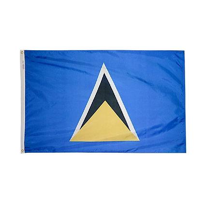 """St.Lucia Flag """"3x5"""""""