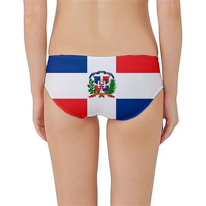 Dominican Republic Flag Classic Bikini Bottoms