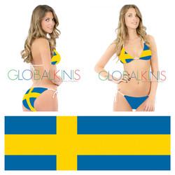 Sweden Flag Bikini