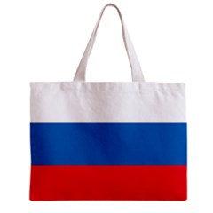 Russia Flag Tote Bag w/ Zipper.