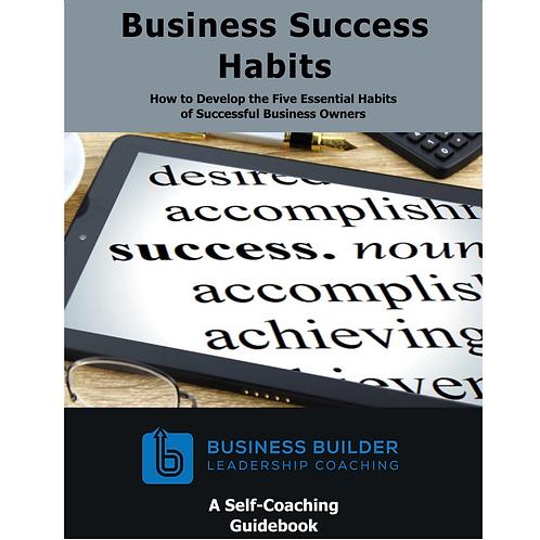 Business Success Habits