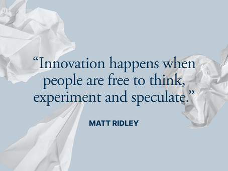 You Don't Need Solutions to The Existing Problems, You Need Radical Innovations.