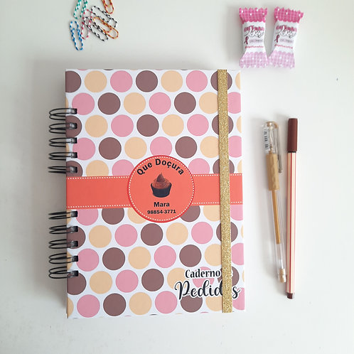 Cadernos de Pedidos