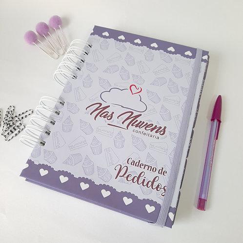 Caderno de Pedidos - Com divisórias