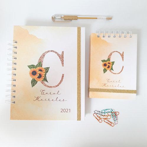 Kit Planner 2021 + Bloquinho