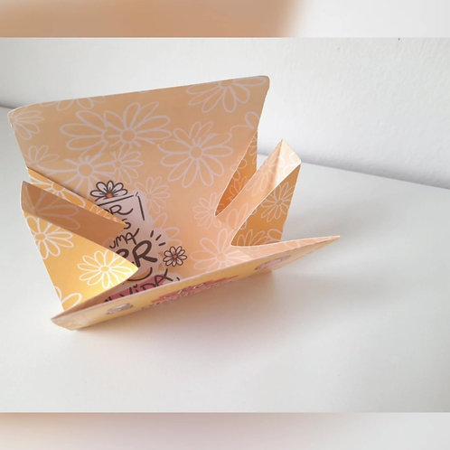Caixa cartão retangular