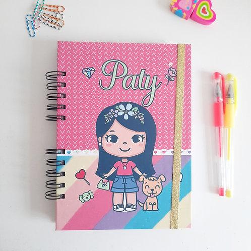 Caderno A5 - Mascotinha