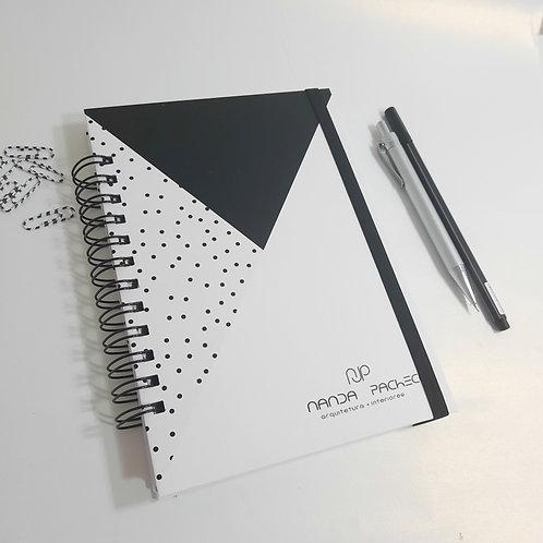 Caderno A5 - Logotipo