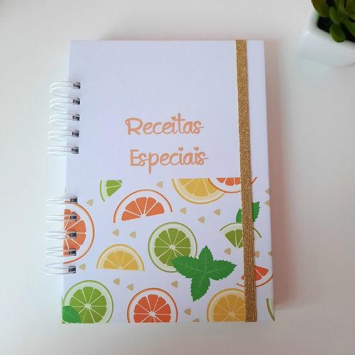 Caderno de Receitas - Cozinha Cítrica