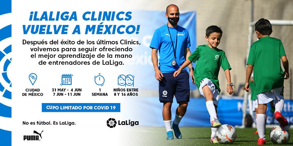 LaLiga Clinics en CDMX - Clínica 1