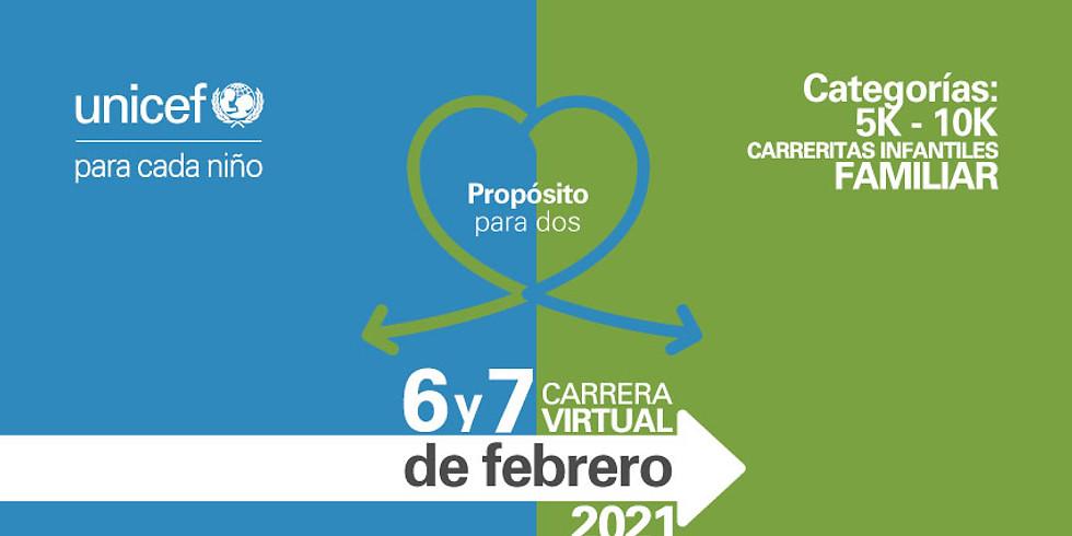 Carrera Virtual UNICEF