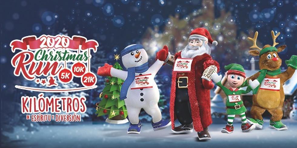 ChristmasRun #RetoNavideño  Kilómetros de espíritu y diversión