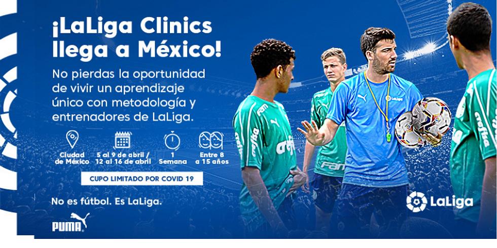 1er LaLiga Clinics en CDMX