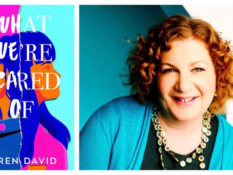 Namoro, espinhas e intolerância: o primeiro romance  de Keren David sobre antissemitismo