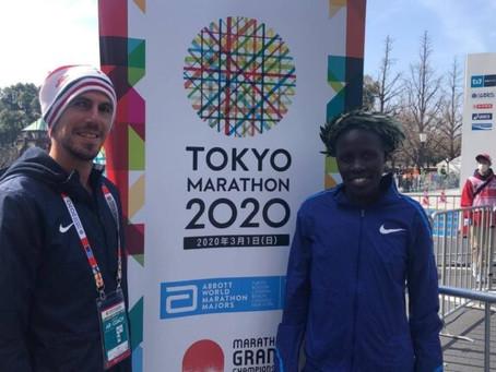 Corredora israelense bate novo recorde com vitória na Maratona de Tóquio