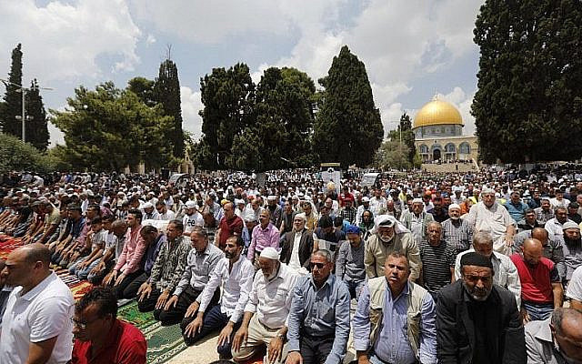 A estrada entre Arábia Saudita e Israel passa por Al-Aqsa