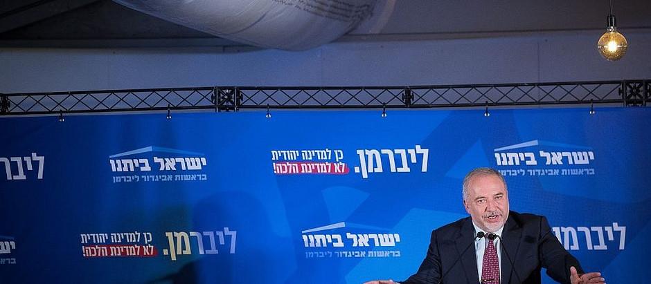 #EleiçõesIsrael   Liberman inflexível 'governo de unidade' é a única opção