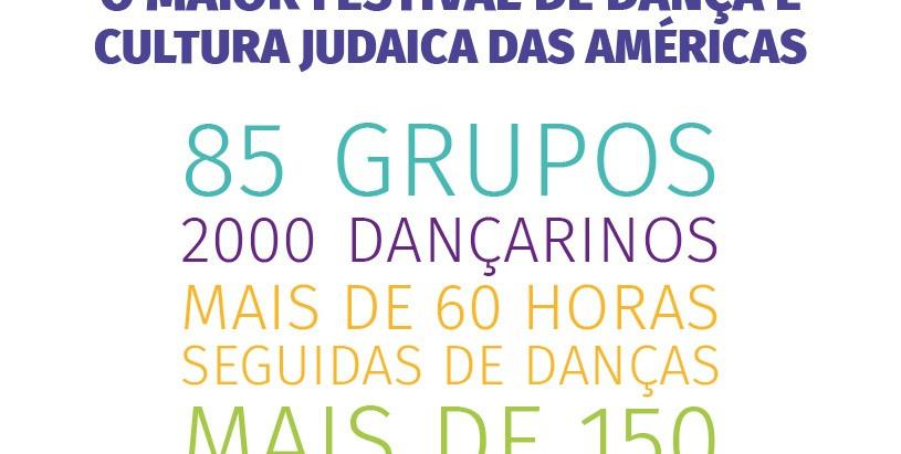 39° Festival Carmel reunirá mais de dois mil dançarinos de três países na Hebraica