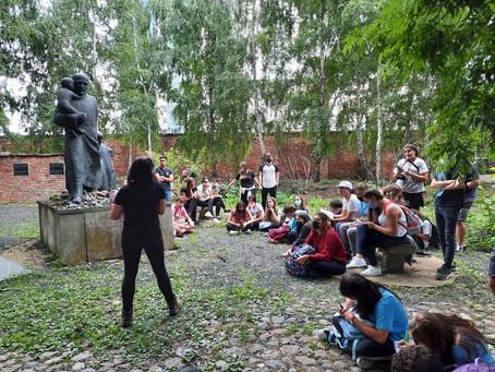 Kvutzá Shnat  da CIP  viaja para a Polônia