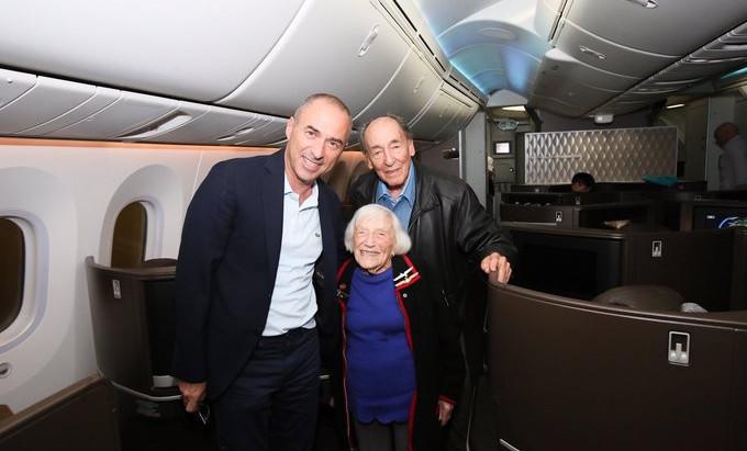 Haifa recebe uma sobrevivente do Holocausto de 99 anos que espionou os nazistas