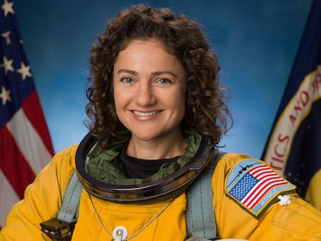 A astronauta judia Jessica Meir publica fotos de Israel tiradas do espaço