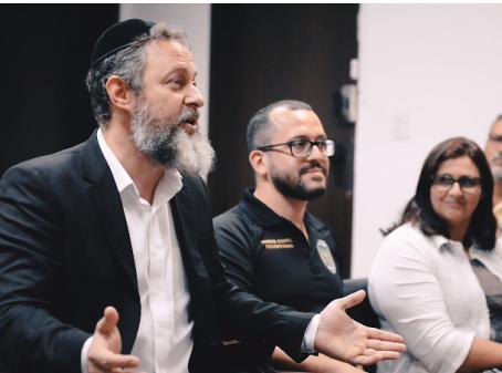 SSPDS promove encontro entre comunidade judaica e autores de comentários racistas