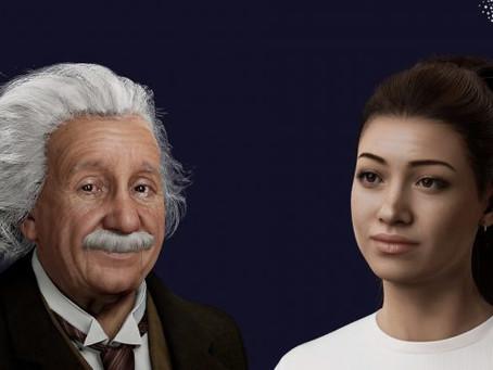 'Empresa humana digital' traz Albert Einstein de volta à vida