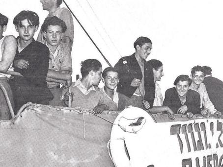 A rota marítima secreta que trouxe sobreviventes do Holocausto ao pré-estado de Israel