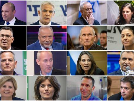 Quem é quem no governo Bennett-Lapid