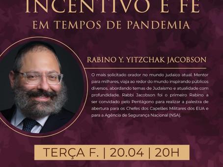 """""""Incentivo e Fé durante a pandemia"""""""