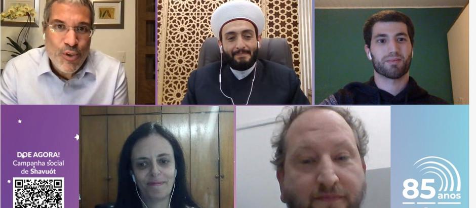 Rabino  e Sheik constroem pontes de diálogo