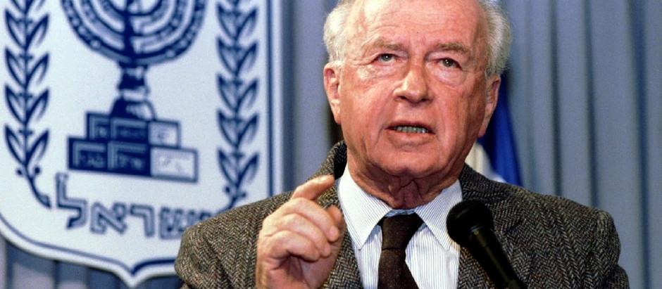 04 de Novembro de 1995: Assassinato do premiê israelense Yitzhak Rabin