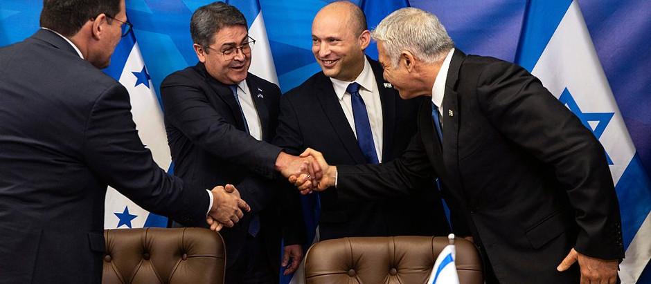 Centímetro por centímetro, a diplomacia israelense avança