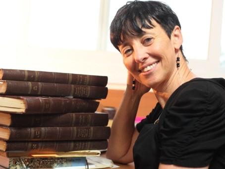 Professora Vered Noam é a primeira mulher a receber o Prêmio Israel em Estudos talmúdicos
