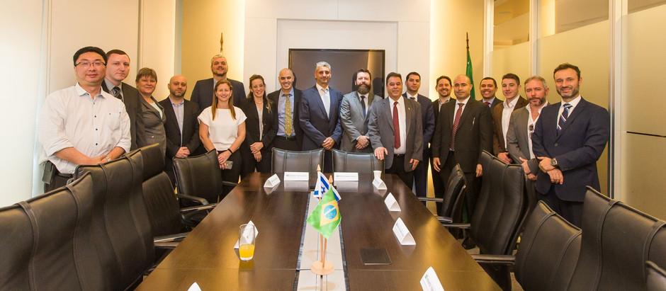 Polícia Nacional de Israel abre escritório em São Paulo